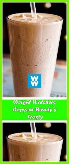 Weight Watchers Copycat Wendy's Frosty Weight Watcher Desserts, Weight Watchers Snacks, Weight Watchers Tipps, Weight Watchers Smoothies, Weight Watcher Dinners, Weight Watchers Smart Points, Weight Watchers Success, Skinny Recipes, Ww Recipes