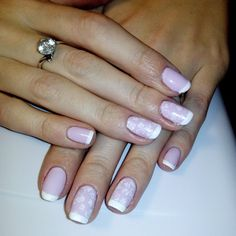very sweet and gentle manicure