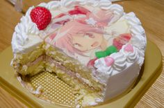 Cake! Cake! A round, round cake! This round, round cake... Who could it be? | Madoka Rebellion Cake Song