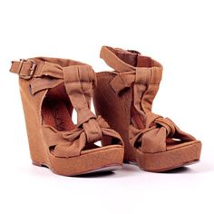Makalu Wedge Camel, $45, now featured on Fab.
