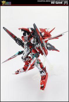 GUNDAM GUY: MG 1/100 00 Qan[T] Tekkeman - Custom Build [Part 2]