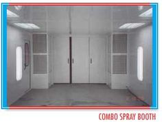 #combo #spray #booth