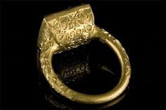 A ring found from the ship wrecked Spanish galleon Nuestra Senora de Atocha, ca 1622.