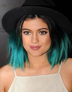 Kylie Jenner's fun gradient haircolor