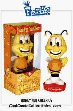 Funko Honey Nut Cheerios Bee Wacky Wobbler http://popvinyl.net #funko #funkopop #popvinyl