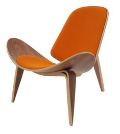 Niels Diffient Replica Hans Wegner Shell Chair $695