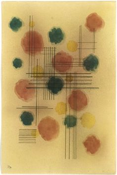 Kandinsky, Emotions, 1928, watercolour. Albertina Museum Wien - Forberg Collection. This is one of my favorites! Kandinsky was inspired by his fascination with music composition.
