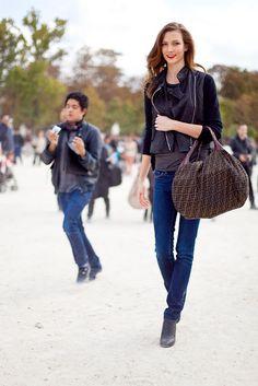 Model: Karlie Kloss Style inspiration.