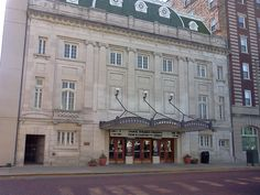 Orpheum - Galesburg IL Notice the marquee is for Choral Dynamics!