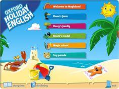 Primaria Esta es una popular y sólida serie que ayuda a los niños a practicar su inglés durante las vacaciones de verano de forma amena y motivadora. Las actividades interactivas para 1º incluyen canciones, cuentos animados, juegos con palabras, un diccionario ilustrado y fichas de autoevaluación