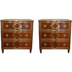 From a prestigious private collection, these Russian mahogany chests are ornamented with brass mounts. The drawer pulls are adorned with neoclassical urns. Interior Concept, Interior Design, Antique Chest, Furniture Styles, Lighting Solutions, Home Look, Chest Of Drawers, Decorative Objects, Planting Flowers