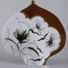 le-pavot-noir-rachel-plantier-peinture-sur-porcelaine