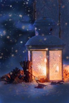 Candlelit Snow