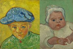 Visiting Cleveland? Don't forget to go to The Cleveland Museum of Art! Until the 26th of May you can see Vincent van Gogh's paintings 'Portrait of Camille Roulin' and 'Portrait of Marcelle Roulin' from our collection.