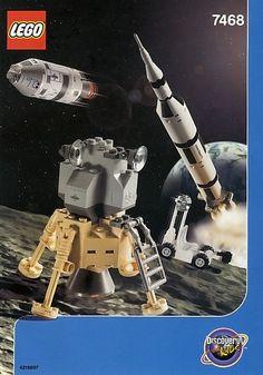 7468-1: Saturn V Moon Mission | Brickset: LEGO set guide and database