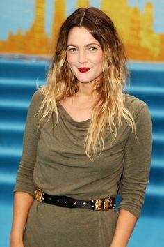 Trendige Haarfarbe Omre-Sommerfrisur-leicht gewellt