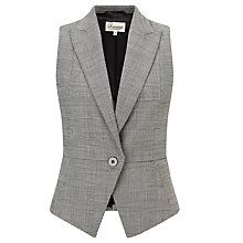 Buy Somerset by Alice Temperley Buckled Waistcoat, Grey from our Women's Coats & Jackets range at John Lewis & Partners. Work Jackets, Jackets For Women, Modern Hijab Fashion, Over 50 Womens Fashion, Blouse Dress, Work Attire, Alice Temperley, Vest Jacket, Blazers