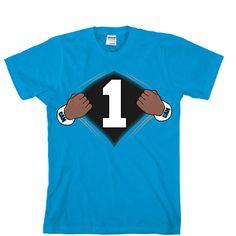 Super Cam Carolina Panthers Unisex T-shirt Sports Clothing