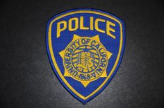 University of California Police Patch (Vintage 1988-2008 Issue)