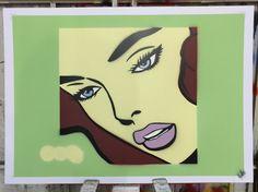 """like the needle longs the skin."" An original work by the owner - Steve Hornblow Spray paint on 300GSM artists paper. SRA3 All work for sale via our website -   #hangingmangallery #art #graffiti #comejoinus #sprayart #mtn #mtn94 #oilpainting #ink #yarnbomb #streetart #biro #leeds #leedslife #originalart #fineart #print #popart #ratedmodernart #_talent #artgallery #artcollective #artforsale #artdealer #artists #outlawswillbehung"