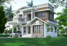 Contemporary Kerala home design 2155 sq-ft