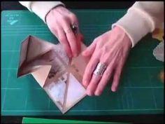 SCRAPBOOKING MINIALBUM PLEGABLE CUADRADO - YouTube