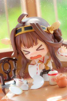 """""""WHAT!! This is NOT black tea!"""" Kongou-chan and Black Tea   Tokyo Otaku Mode #nendoroid"""
