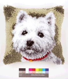 Vervaco Westie Latch Hook Cushion MultiColour ** You can find more details by visiting the image link. (This is an affiliate link and I receive a commission for the sales)