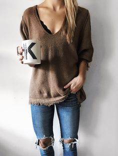 2016 Free People Sweater // Levi's Denim //Express Bralette https://www.shopbop.com/irresistible-neck-sweater-free-people/vp/v=1/1578534708.htm?folderID=2534374302090711&fm=other-shopbysize-viewall&os=false&colorId=12867&extid=affprg_CJ_SB_US-4441350-rewardStyle&cvosrc=affiliate.cj.4441350