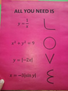 Math is all love you need