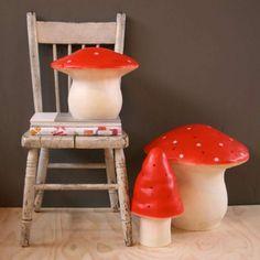 Heico Kinderlamp Grote Rode Paddestoel