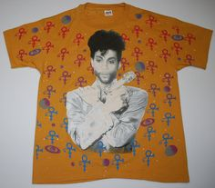 5a5aafbbaf13 Artist Formerly Known As Prince All Over Print by WyCoVintage Printed  Shirts
