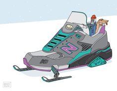 Les illustrations de sneakers de Ghica Popa | Sneakers.fr
