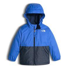 The North Face Toddler Boys' Warm Storm Hooded Rain Fleece Jacket: Kids