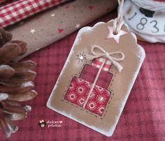 Tutorial etiquetas de Navidad pilukas angelitos