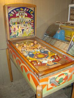 Gottlieb Harvest Moon 1948 coin operated pinball woodrail game