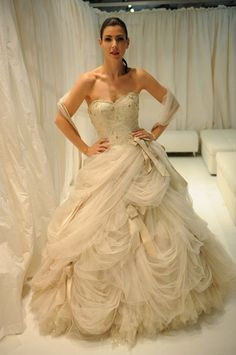 Ian Stuart 2011 I didnt think I could wear a ballroom gown but this one is gorgeous!