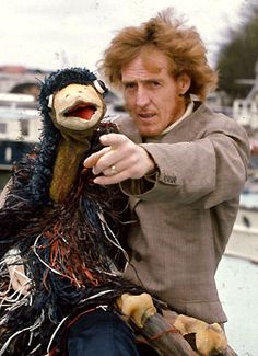 Emu with Rod Hull.