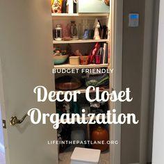 Life in the Past Lane Closet Organization, Family History, Bathroom Medicine Cabinet, Budgeting, The Past, Life, Home Decor, Decoration Home, Room Decor