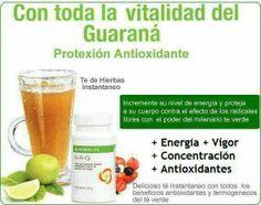 Thermojetics®  Guaraná NRG  Impulsa y sostiene los niveles de energía. Suave y natural. Es una alternativa al uso del café pues contiene una forma menos agresiva de cafeína que aunque tiene una acción estimulante es más suave para el aparato digestivo que la del café.