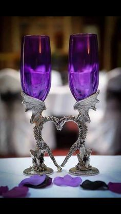 #purple #gothic #heart #love