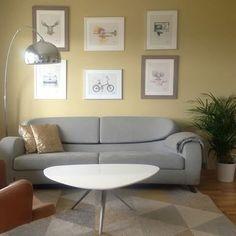 Så gøy å se ferdig resultat hos kunder😊 Denne stuen er blitt lunere og mer personlig med den tøffe fargen #velvet fra @jotunlady Vi digger det! 👌👌👌 Takk for at du deler @monadahl91 #fargerike_reinaas #fargerike #jotun #interiør #interior