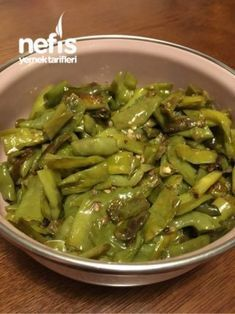 Arabic Food, Turkish Recipes, Food Menu, Vegetable Recipes, I Foods, Asparagus, Green Beans, Food And Drink, Cooking Recipes