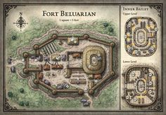 Tomb of Annihilation; Fort Beluarian - 5E (Digital DM & Player Versions) $2