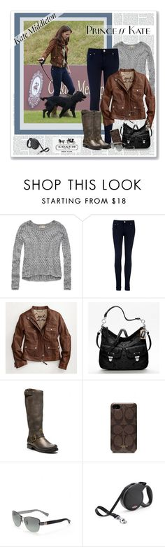 """""""Kate Middleton Style"""" by roxy75 ❤ liked on Polyvore featuring Hollister Co., Ted Baker and Coach"""