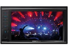 "DVD Automotivo Pósitron SP8830 Link LCD 6,2"" - Retrátil Touch Bluetooth 180W RMS USB SD"