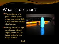 Reflection, Refraction, and Absorption Properties of Light