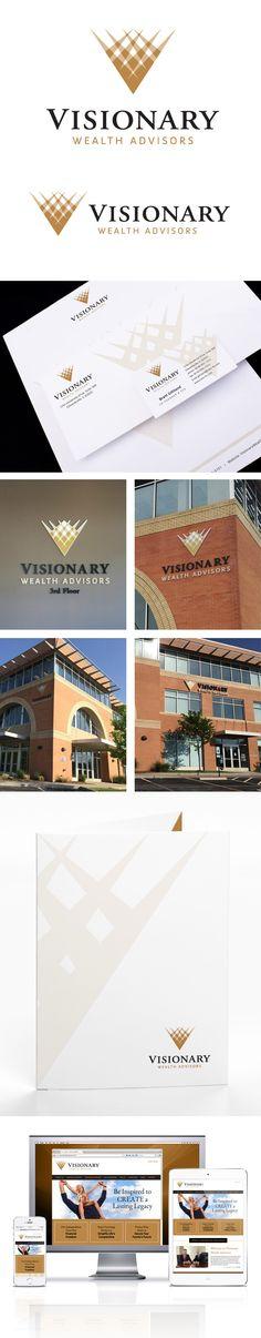 branding package for Visionary Wealth Advisors