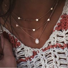 Bohemian Multilayer Pendant Necklace for Women Fashion, Geometric Charm Chain Necklace Wholesale Jewelry · favorite things Colar Lariat, Lariat Necklace, Necklace Types, Drop Necklace, Necklace Guide, Tiffany Necklace, Necklace Extender, Necklace Ideas, Flower Necklace
