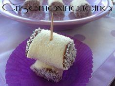 i rotolini di pancarrè alla nutella e cocco ideali per una merenda o per una buffet o una festa di compleanno.